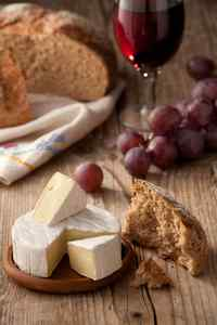 enjoying camembert