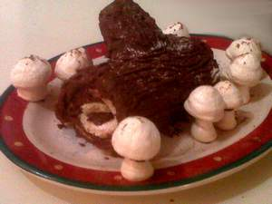 buche de noel from a reader 2011