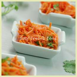 carrot salad with cilantro