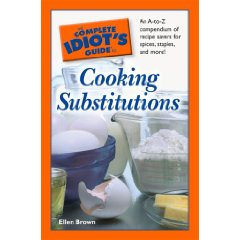 cooking substituitons cookbook