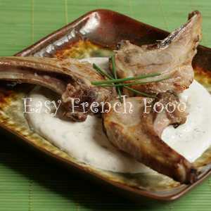 easter menu lamb cutlets