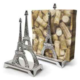 eiffel tower napkin holder
