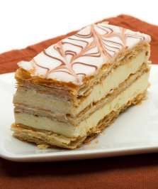 french pastry millefeuille