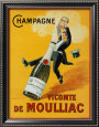 French wine posters