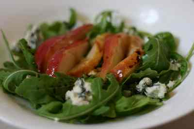 pear blue cheese salad