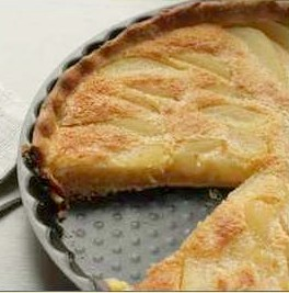Pear tart recipe easy french fruit dessert for Easy french dessert recipes