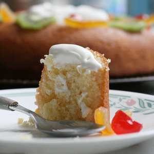 Baba au rhum easy rum baba cake by starting with a baking powder leavened cake this popular french dessert becomes something you can quickly put together forumfinder Image collections