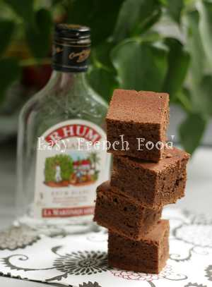 rum chocolate cake recipe